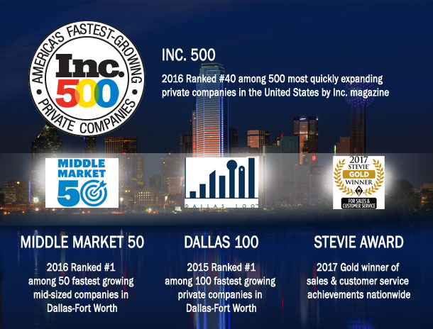 Dallas 100 Award Winner