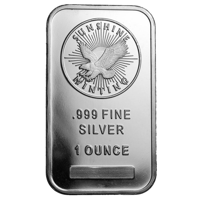 Buy 1 Oz Sunshine Silver Bars Online New L Jm Bullion