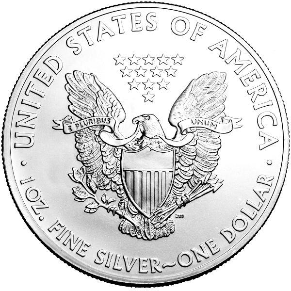 Buy 2014 American Silver Eagles Bu Us Mint Silver 166 Jm
