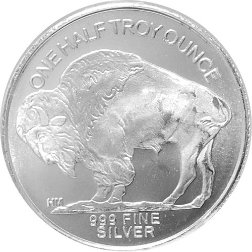 Buy 1 2 Oz Hm Buffalo Silver Rounds Online New 999 Pure