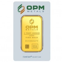 OPM 1oz Bar Obverse
