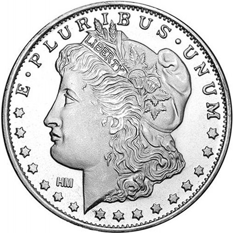 Buy 1 2 Oz Hm Morgan Silver Rounds Online 999 Pure L Jm