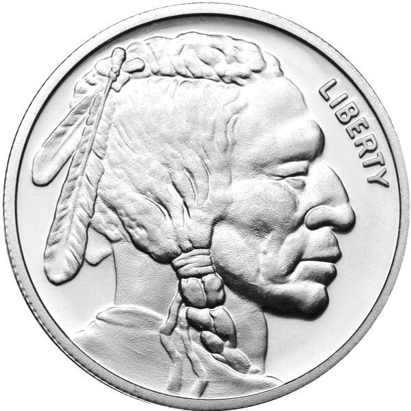 Buy 1 Oz Ntr Buffalo Silver Rounds Online New Jm Bullion
