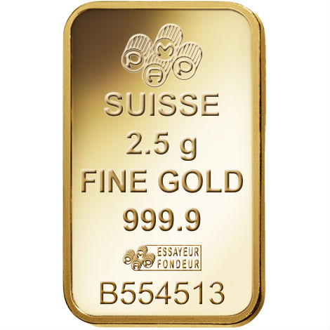Buy 2 5 Gram Pamp Suisse Gold Bars Online L Jm Bullion
