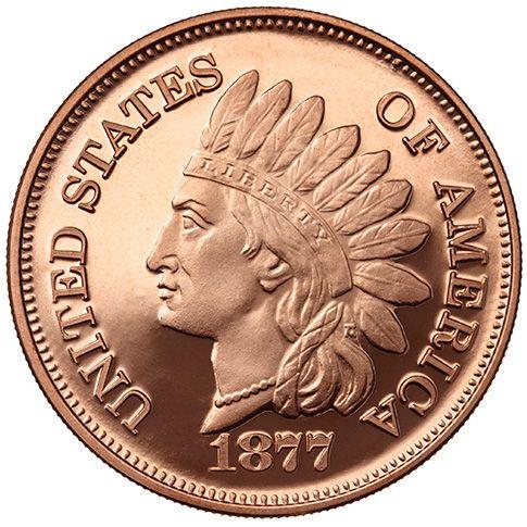 Buy 1 Oz Indian Head Copper Rounds Online L Jm Bullion