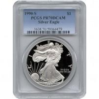 1990-s-silver-eagle-pr70