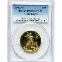 1997-W-$25-PR70