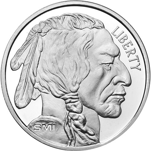 Buy 1 Oz Sunshine Buffalo Silver Rounds Online New Jm