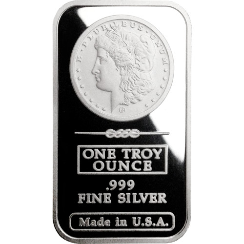 Buy 1 Oz Gam Morgan Silver Bars Online L Jm Bullion