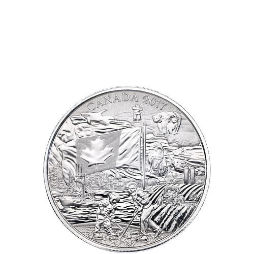 2017 1/4 oz Canadian Silver The Spirit of Canada Coin (BU)