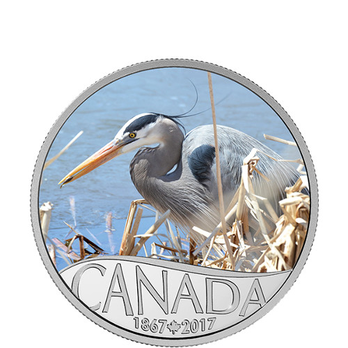 2017 1/2 oz Proof Canadian Silver Celebrating Canada's 15...