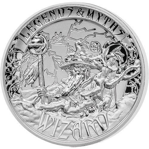 2017 2 oz Reverse Proof Solomon Islands Silver Legends an...