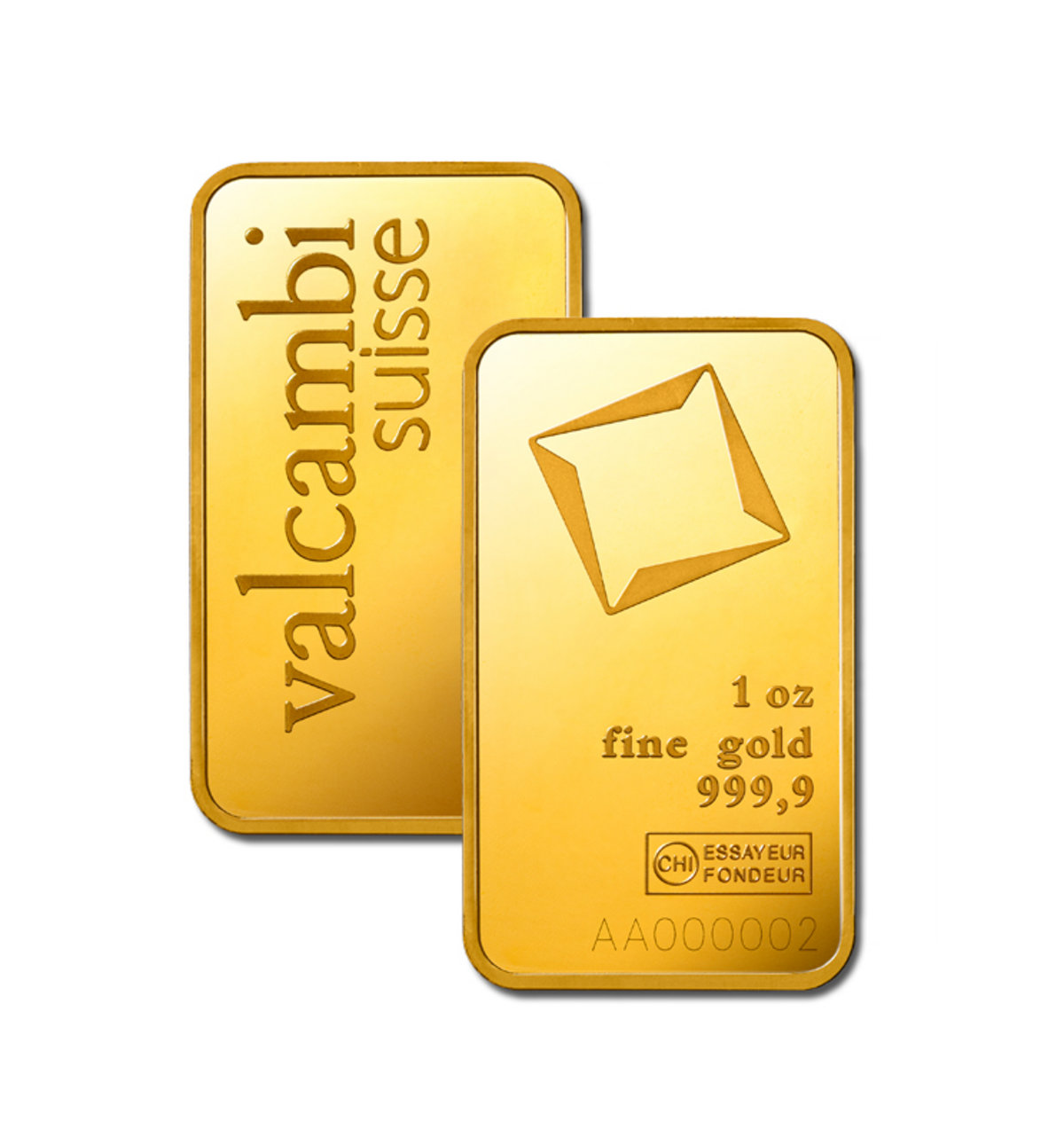 Buy 1 Oz Valcambi 9999 Gold Bars Brand New L Jm Bullion