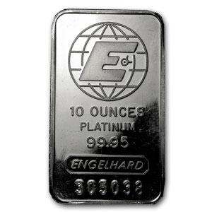 Buy 10 Oz Platinum Bars Online Mixed Brand Condition L